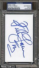 Peter Yarrow Signed Index Card PSA/DNA Certified AUTO AUTHENTIC