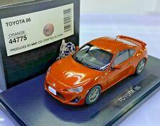 1/43 EBBRO 44775 TOYOTA 86 ORANGE model car FT86 SCION FR-S AE86