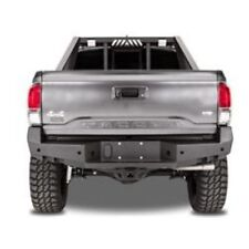 Fab Fours TT16-W3651-1 Premium Rear Bumper w/Sensor Holes For 16+ Toyota Tacoma