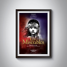 LES MISERABLES - MUSICAL POSTERS - A4 - A3 - Home / Office / Wall Art 170GSM