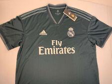 $90 NEW XL Size Mens XLARGE Adidas Real Madrid FC Away Futbol Jersey Soccer NWT