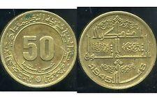 ALGERIE  ALGERIA  50 centimes 1975     ( etat )