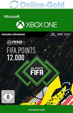 FIFA 20 12000 FUT Points Key FIFA Ultimate Team Points - Xbox One Download Code