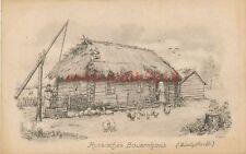 Ak, Wk1, Russisches Bauernhaus, Białystok, Polen, (K)1762