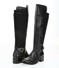 CHARLES BY CHARLES DAVID Women's Black Leather Knee High Boots Sz. 7 M