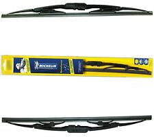 "Michelin Rainforce Traditional Wiper Blades Pair 15""/24"" for Honda CIVIC 01-05"