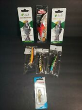 Lot Of 7 Fishing Tackle Lures And Crankbaits NEW