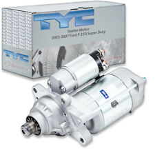 TYC Starter Motor for 2003-2007 Ford F-250 Super Duty 6.0L V8 vk
