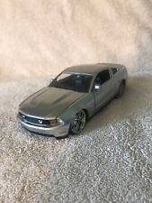 Jada big-time 2010 Ford Mustang GT diecast 1:24 scale SILVER. VHTF! 92205
