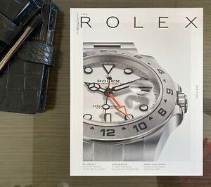 Rolex Magazine Issue 8 - Explorer 2 New Unused Condition