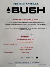 BUSH LE-22GRT-A+DVD T.SIS231.31  stuck  in  Initialising spi repair kit read adv