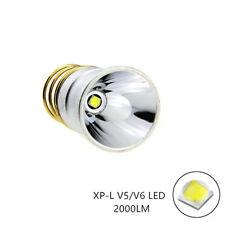 CREE XPL V6 LED 2000Lums 3.7-18V 1.8A Bulb 1-Mode Flashlight Lamp for SureFire
