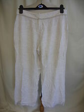 "Ladies Trousers Principles UK14 petite, ivory, waist 32"" inside leg 28"" 8193"