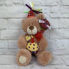 First & Main Bear E. Special Day Happy Birthday Plush Stuffed Animal Gift 17214