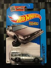 HOTWHEELS - Movie TV Diecast Car - BACK TO THE FUTURE Time Machine 'Hover Mode'