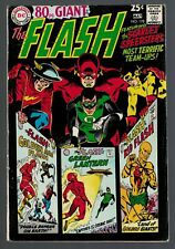 DC Comics Flash 178 Green Lantern  1968 FN+ 6.5  80 page Giant justice League