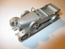 Austro Daimler ADM / BK 1925 open tourer, Zinn Pewter, Danbury Mint ca. in 1:55!