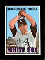 1967 TOPPS #52 DENNIS HIGGINS EX WHITE SOX  *XR10363