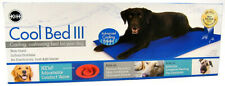 """K&H Pet Cool Bed lll Blue Cushion Cooling Dog Bed Large (32"""" x 44"""")"""