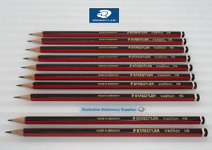 10 x HB Staedtler Tradition 110 Pencils 110HB always in stock