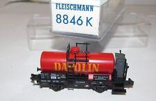 Fleischmann piccolo Spur N 8846 K Kesselwagen Dapolin OVP, XR0446X