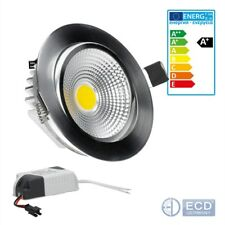 20 x LED COB Recessed Spotlight Recessed Lamp Spotlight Lamp Round 7w Neutral Wh...