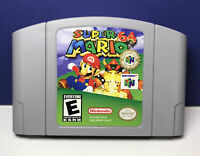 Super Mario 64 (Nintendo 64,1997) N64 Authentic TESTED Cart Only(Players Choice)