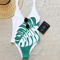 Womens Swimwear Monokini Bikini Swimsuit Bathing Suit Brazilian Beachwear Halter