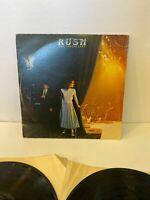 RUSH EXIT STAGE LEFT 2 LP SRM-2 7001  MERCURY VINYL 1981 MASTERDISK RL
