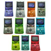 Nintendo Game Boy Advance GBA 001 SP Advance System Transparent Clear Pick Color