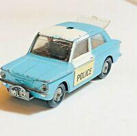 1968 vintage Corgi 506 Police Hillman Imp die cast classic car vintage