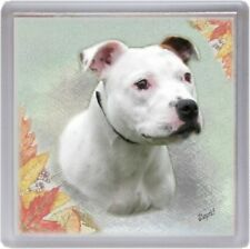 Staffordshire Bull Terrier Coaster No 6 by Starprint - Auto combined postage
