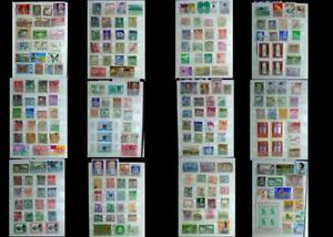 Great Stamp Collection Mix Asia Hong Kong Mongolia Philippines Japan China Siam
