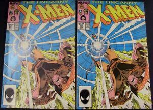 UNCANNY X-MEN 221 MARVEL COMIC 1ST MISTER SINISTER CLAREMONT SILVESTRI 1987 VF
