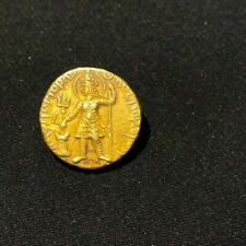Ancient gold coin from ancient Kushan empire