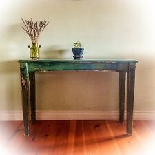 French Country, Entryway Table, Green, Shabby Chic, Sofa table, Foyer table