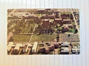 Postcard Montana State University Air View Bozeman