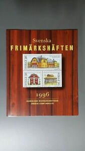Sweden MNH stamp booklets complete year set 1996