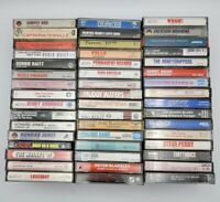 (48) Vintage Cassette Tapes Mixed Lot of Rock, Jazz, Pop Etc...