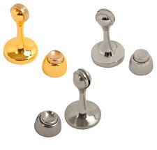 Magnetic Door Holder Door Stop Wall Mount Hold Door Open Chrome Brass Stainless