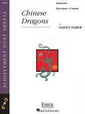 Chinese Dragons Advanced Piano Duet Faber Piano Adventures Book NEW 000420004