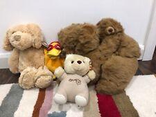 Bundle 4  Soft Toys Tesco Bunny Teddy Bear