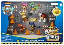 Paw Patrol Ultimate Rescue Construction Pups Exclusive Action Pack Gift Set 2019