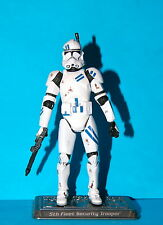 STAR WARS SAGA FIFTH FLEET SECURITY CLONE TROOPER LOOSE COMPLETE