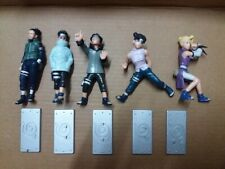 Naruto Shikamaru Shino Kiba Tenten Ino set of 5 Figure Toy Shippuden