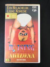 Raising Arizona Ex-Rental Vintage VHS Tape English  dutch subs
