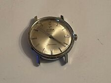 Vintage 1950s Mens Omega automatic seamaster stainless swiss running!