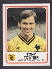 Panini - Football 84 - # 371 Tony Towner - Wolves