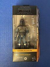 Star Wars The Black Series Mandalorian Loyalist Action Figure Wal-Mart Exclus
