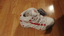 New in Box! Kids Next Up Tae Bo Martial Arts Exercise Shoes! White Red Size 4